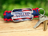 Key Fob - United We Stand RWB