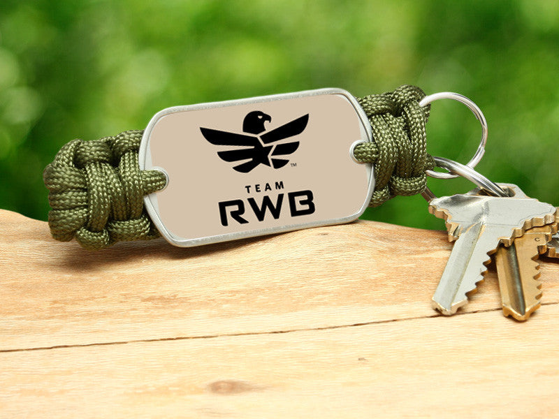 Key Fob - Team RWB Lt. OD Green