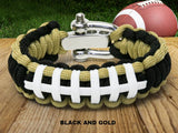Custom Color Football Bracelet