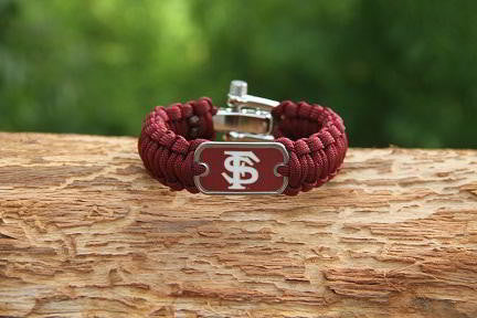 Light Duty Survival Bracelet™ - Officially Licensed - FSU® Seminoles® V2
