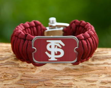 Wide Survival Bracelet™ - Officially Licensed - FSU® Seminoles® V2