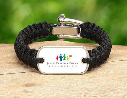 Light Duty Survival Bracelet™ - Furyk Foundation Logo