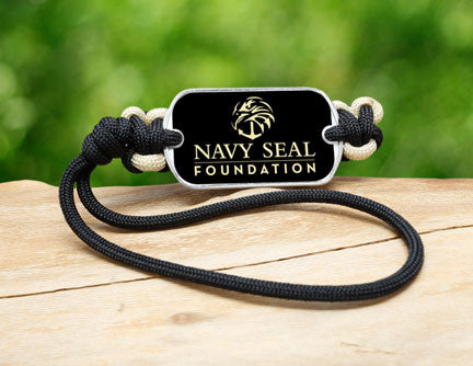 Gear Tag - Navy SEAL Foundation - Black and Sand