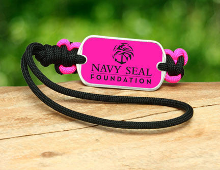 Gear Tag - Navy SEAL Foundation - Black and Pink
