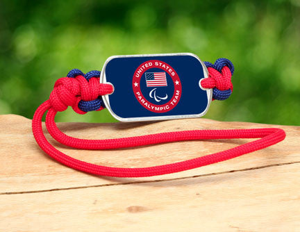 Gear Tag - US Paralympic Team (Blue)