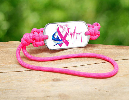 Gear Tag-Guy Harvey-Neon Pink Ribbon