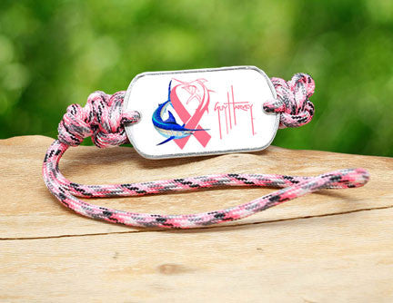 Gear Tag-Guy Harvey-Camo Pink Ribbon