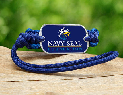 Gear Tag - Navy SEAL Foundation - Blue and Yellow