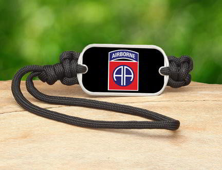 Gear Tag-U.S. Army™ 82nd Airborne Black