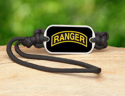 Gear Tag-U.S. Army™ Rangers Black