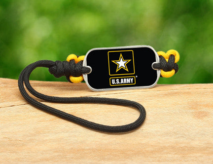 Gear Tag - Officially Licensed - U.S. Army™ - Black/Yellow