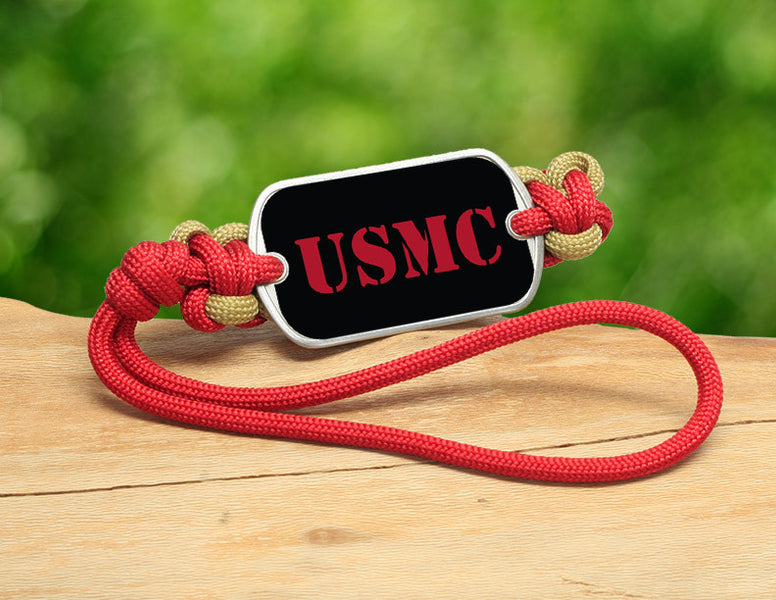 Gear Tag - Red USMC