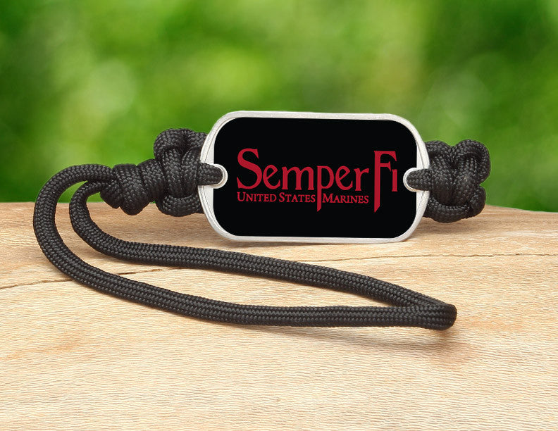 Gear Tag - Red Semper Fi