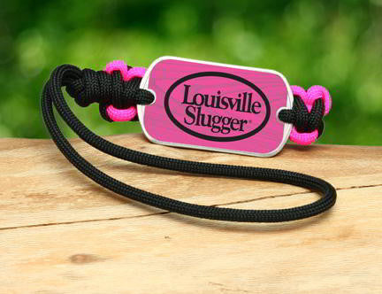 Gear Tag - Louisville Slugger® - Black and Pink
