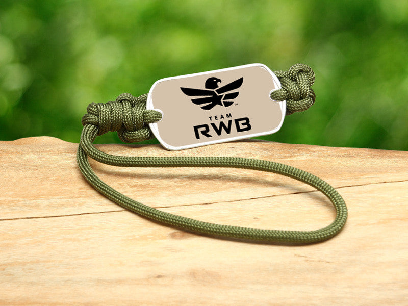 Gear Tag - Team RWB Lt. OD Green