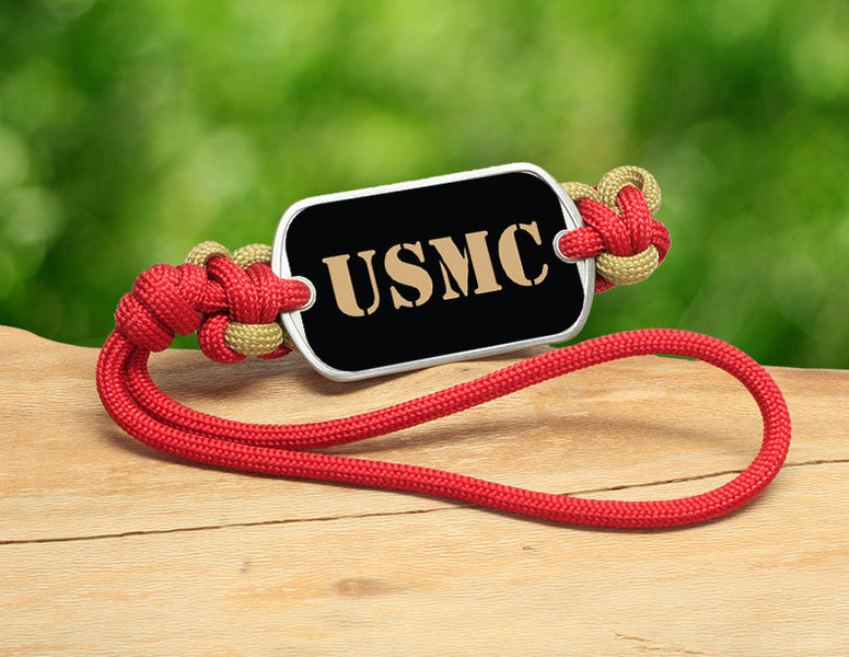 Gear Tag - Gold USMC