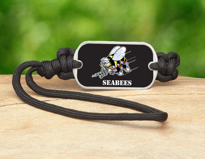 Gear Tag - Officially Licensed - U.S. Navy Seabees