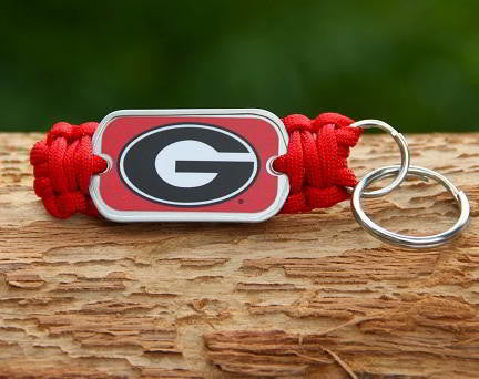 Key Fob - Officially Licensed - Georgia® Bulldogs® V2