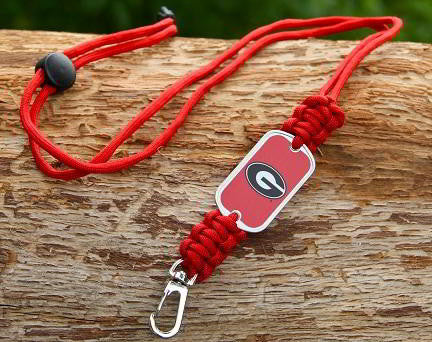Neck ID Lanyard - Officially Licensed - Georgia® Bulldogs® V2