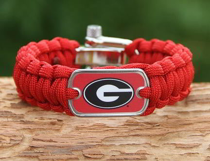 Regular Survival Bracelet™ - Officially Licensed - Georgia® Bulldogs® V2