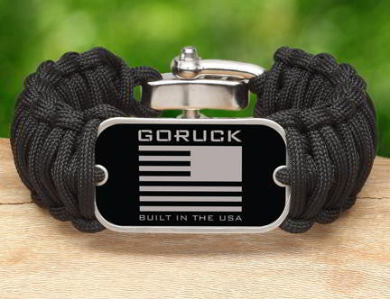 Wide Survival Bracelet - Goruck