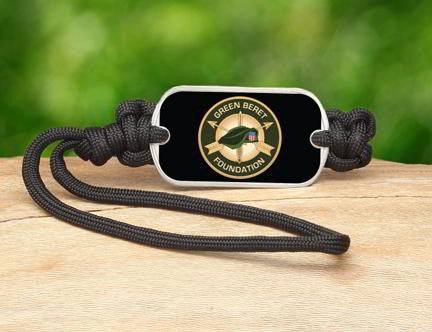 Gear Tag-Green Beret Foundation Logo