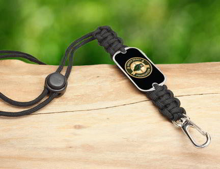 Neck ID Lanyard-Green Beret Foundation Logo