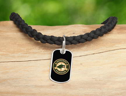 Necklace-Green Beret Foundation Logo