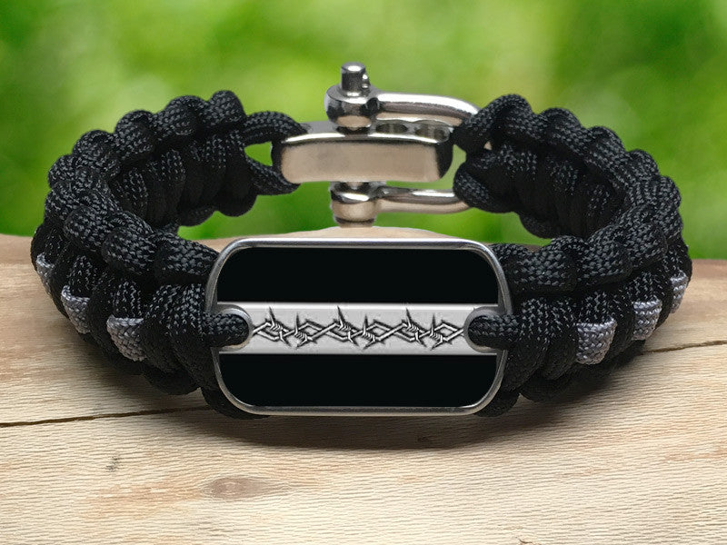 Regular Survival Bracelet™ - Corrections Officers Barbed Wire