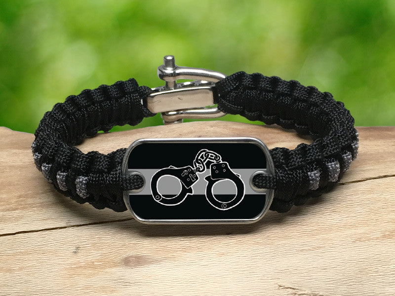 Light Duty Survival Bracelet™ - Corrections Officers Handcuffs
