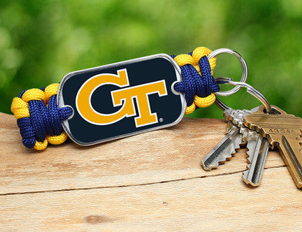 Key Fob - Officially Licensed - Georgia Tech®