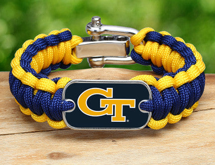 Regular Survival Bracelet™ - Officially Licensed - Georgia Tech®