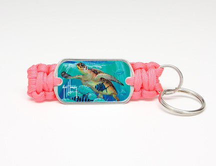 Key Fob-Guy Harvey-Hawksbill Caravan