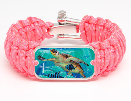 WIDE Survival Bracelet™-Guy Harvey-Hawksbill Caravan