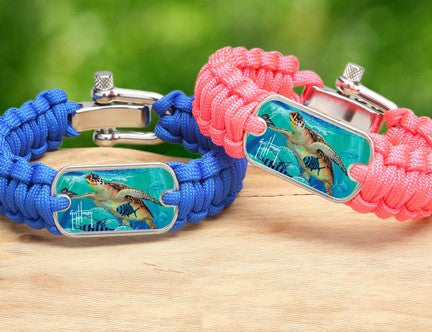 Regular Survival Bracelet™-Guy Harvey-Hawksbill Caravan