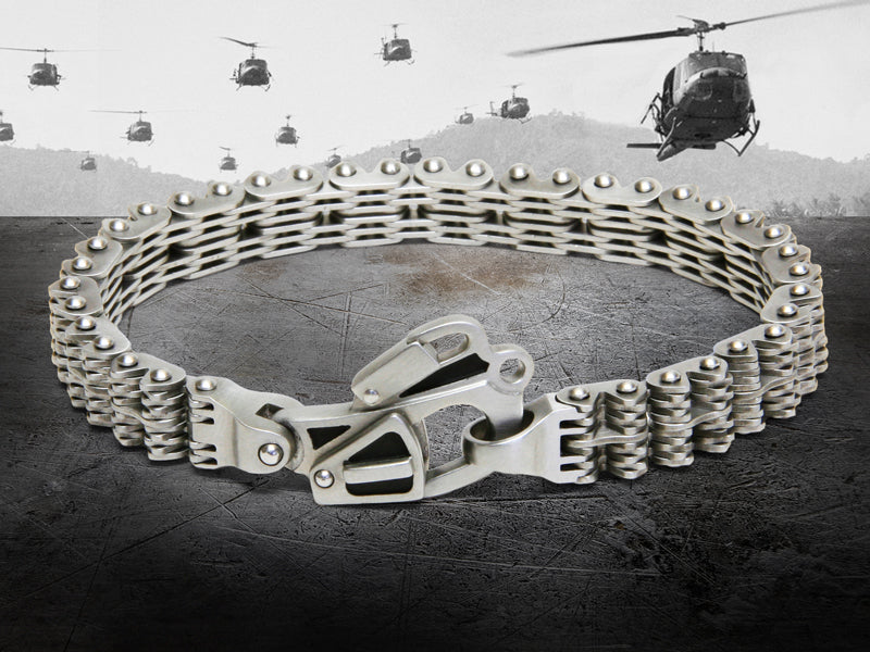Helo Tail Rotor Chain Bracelet