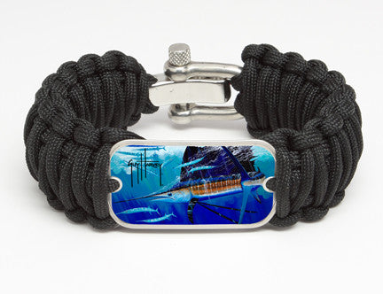 WIDE Survival Bracelet™-Guy Harvey-Hound Dog
