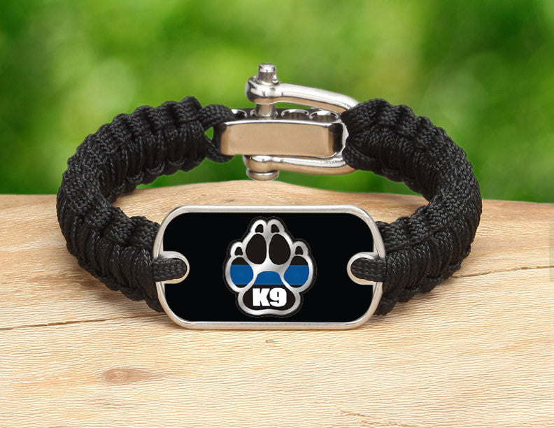 Light Duty Survival Bracelet™ - Police K9