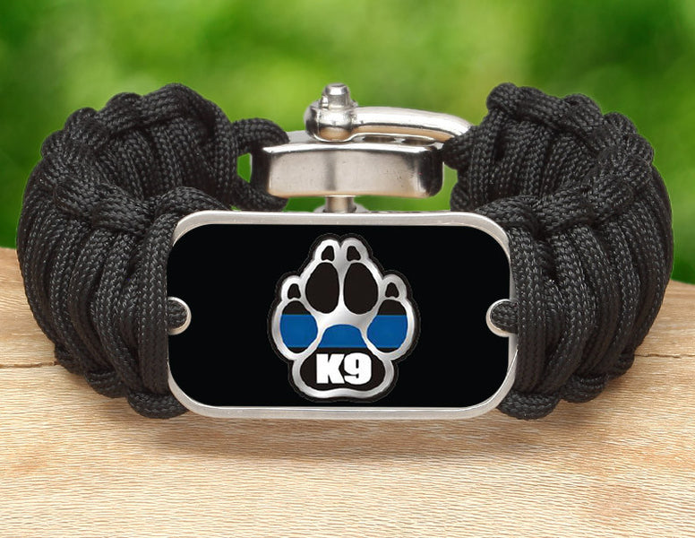 Wide Survival Bracelet™ - Police K9