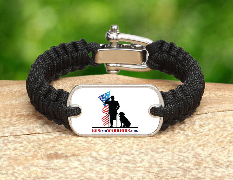 Light Duty Survival Bracelet™ - K9s for Warriors