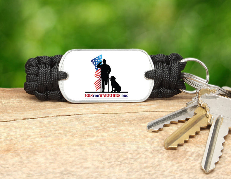 Key Fob - K9s for Warriors