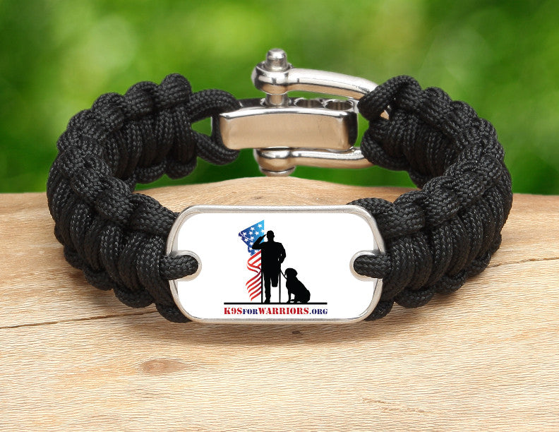 Regular Survival Bracelet™ - K9s for Warriors