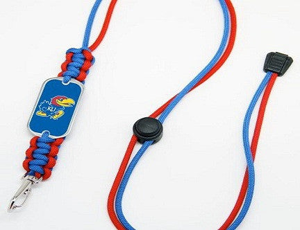 Neck ID Lanyard - Officially Licensed -Kansas Jayhawks®