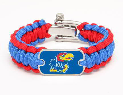Regular Survival Bracelet™ - Officially Licensed - Kansas Jayhawks®