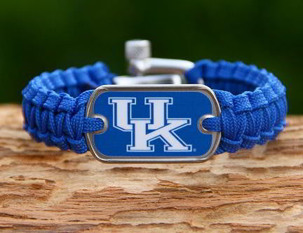 Light Duty Survival Bracelet™ - Officially Licensed - Kentucky Wildcats® V2