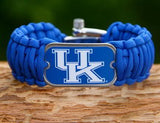 Wide Survival Bracelet™ - Officially Licensed - Kentucky Wildcats® V2