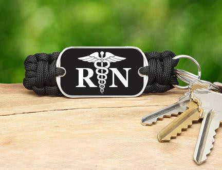 Key Fob - Registered Nurses Tag