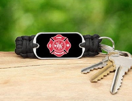 Key Fob - Firefighter Tag