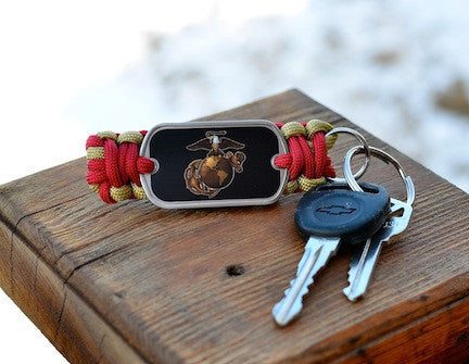 Key Fob - Officially Licensed - USMC