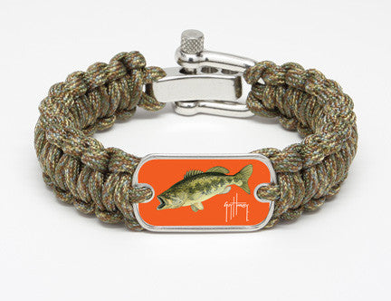 Regular Survival Bracelet™-Guy Harvey-Largemouth Bass